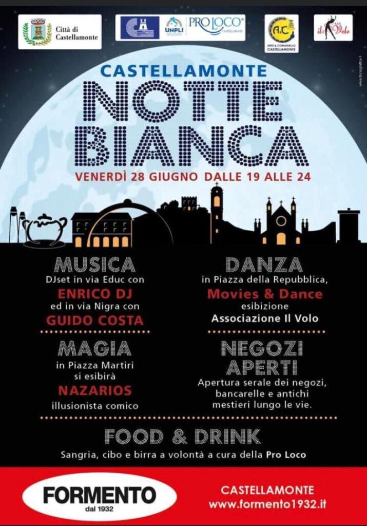 Notti Bianche & Mangiar per Vie